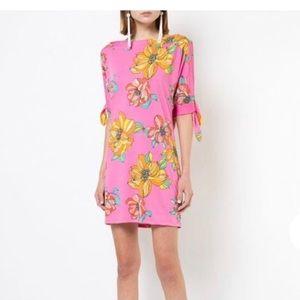 Trina Turk Vinet Floral Print Mini Dress